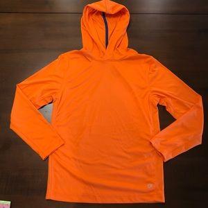 NWOT- Gap fit orange hoodie/ Size 12